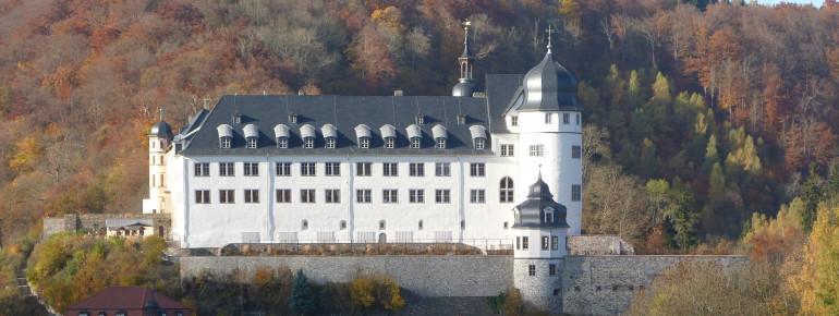 Das Schloss Stollberg im Südharz