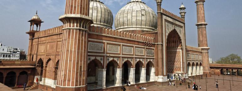 Die Jama Masjid Moschee in Delhi