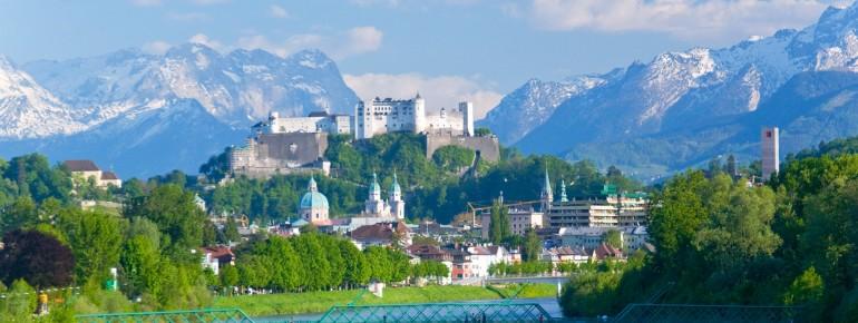 Große Teile Salzburgs zählen zum Weltkulturerbe