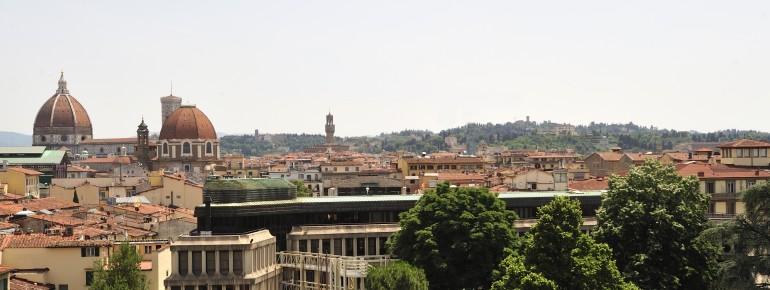 Florenz, links der Dom