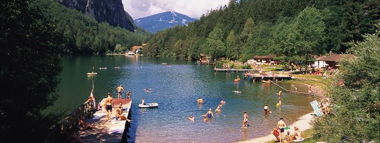 Das Strandbad am Tristacher See