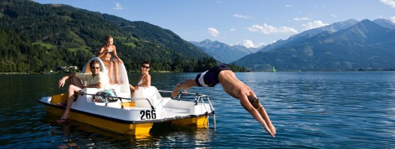 Mehr als 180 Seen gibt es im Salzburger Land.