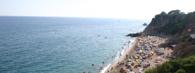 Badespaß an der Costa Brava
