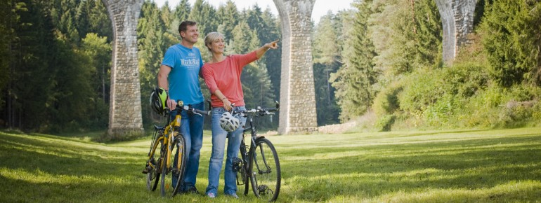 Mit dem Rad durch Bayern.