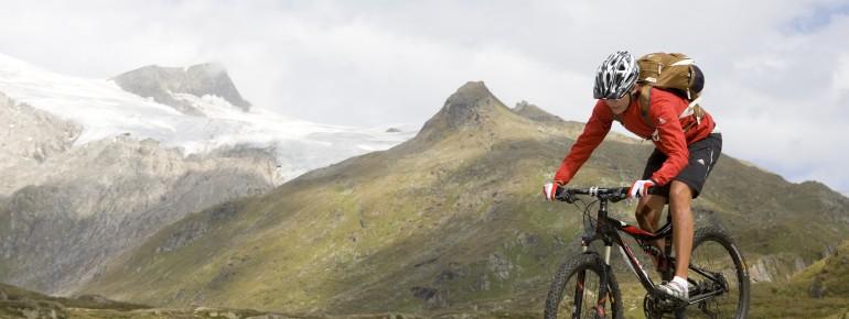 Anspruchsvolle Strecken finden sich in den Lienzer Dolomiten