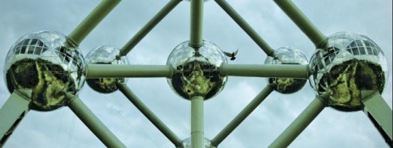 Das Atomium ist eines der Wahrzeichen der Hauptstadt Brüssel