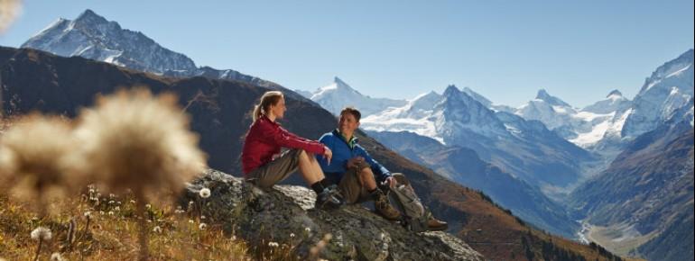Der Alpenpässeweg zwischen Chur und St. Gingolph