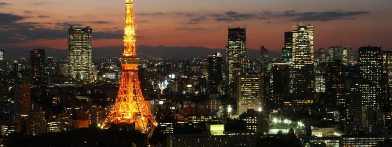 Der Tokyo Tower ist eines der Wahrzeichen Tokios.