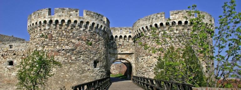 Die historische Festung von Belgrad