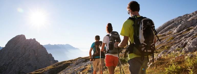 Das Salzburger Land zu Fuß erkunden.