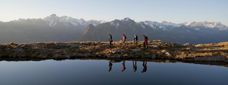 Tirol zählt zu den abwechslungsreichsten Wanderregionen der Alpen.
