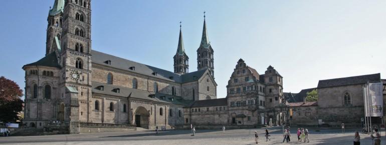 Die Bamberger Altstadt zählt zum UNESCO Welterbe.