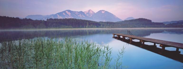 Zahlreiche Seen sorgen in Österreich für Wasserspaß pur!