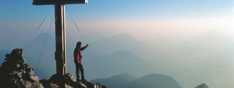 Fast 1000 Dreitausender sorgen in Österreich für Gipfelglück!