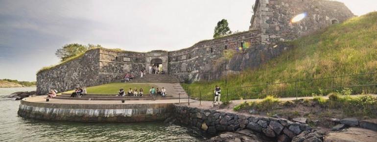 Die Inselfestung Suomenlinna in Helsinki