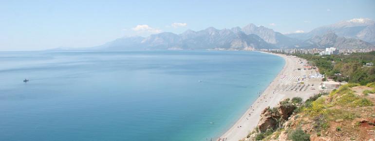 Die Küste von Antalya